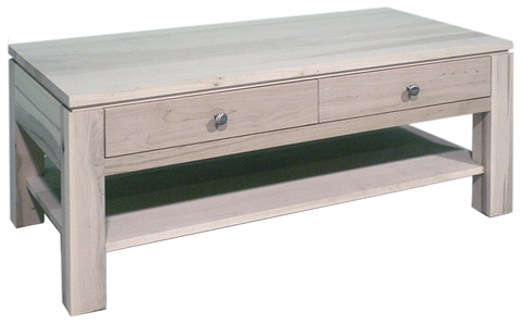 Newport 2 Drawer Coffee Table