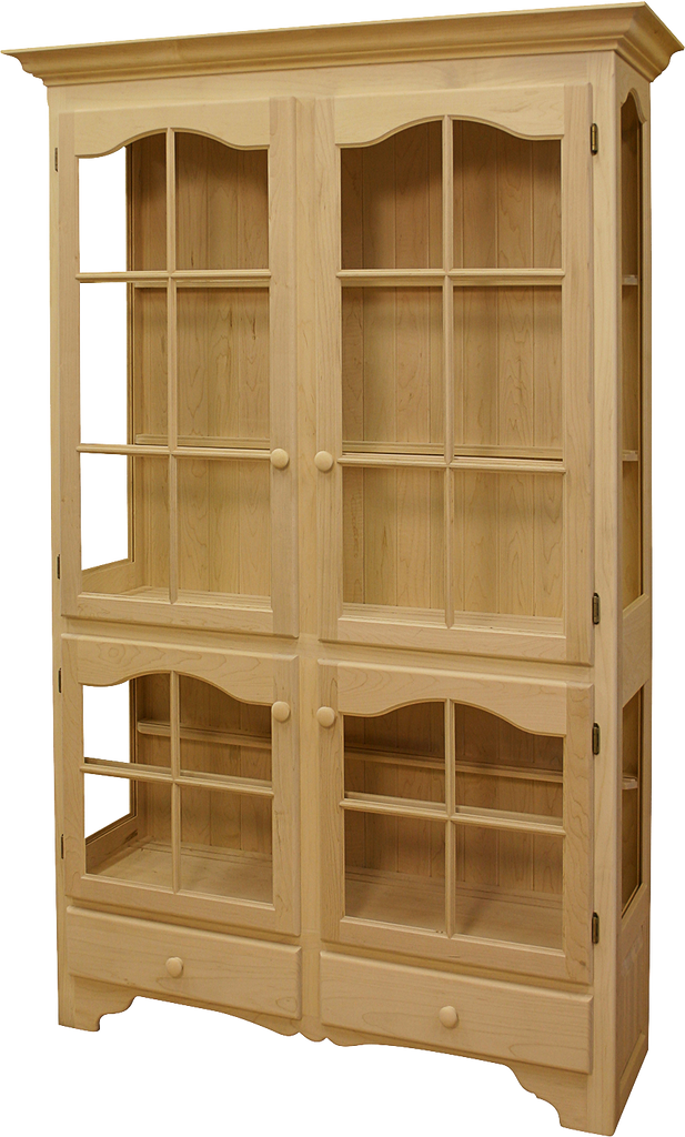 Legacy 4 Door 2 Drawer China Cabinet