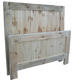 Nith River Rustic Barn Door Bed