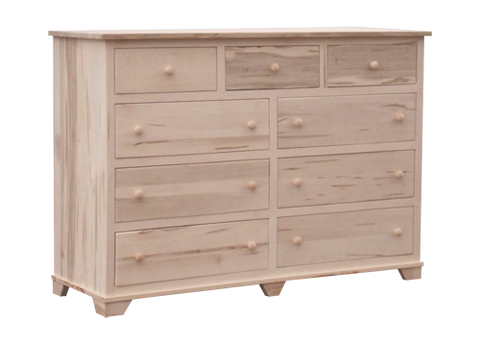 Nith River Rustic 9 Drawer Dresser