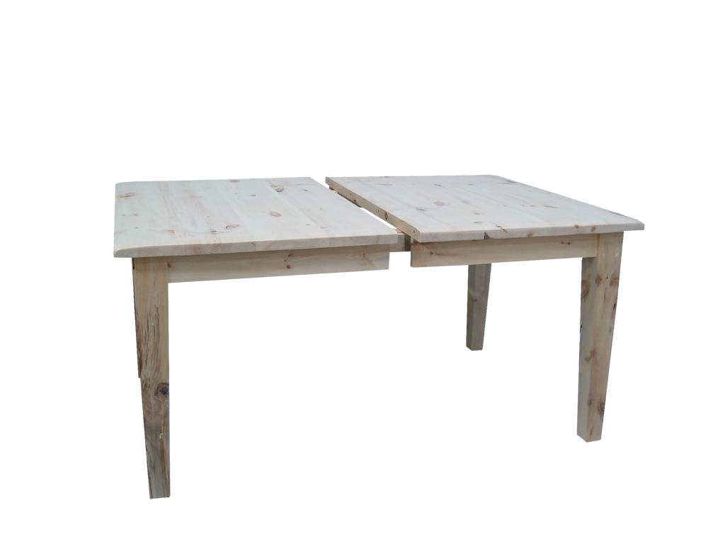 Nith River Rustic Extension Harvest Table