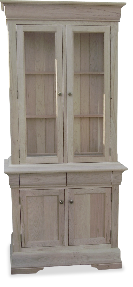 2 Door Buffet & Hutch P-38