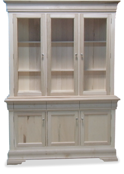 3 Door Hutch & Buffet P-53