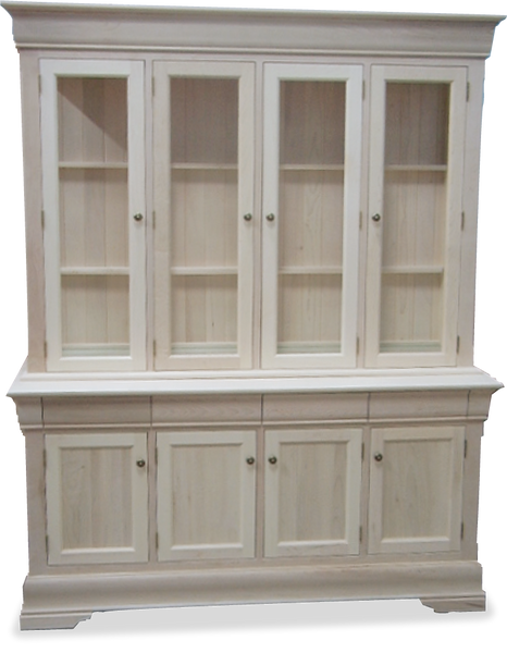 4 Door Buffet & Hutch P-68