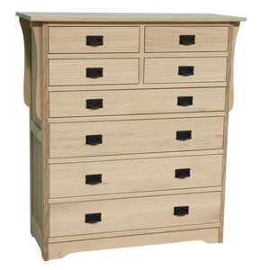 Mission 8 Drawer Hiboy Chest