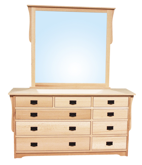 Mission 9 Drawer Dresser