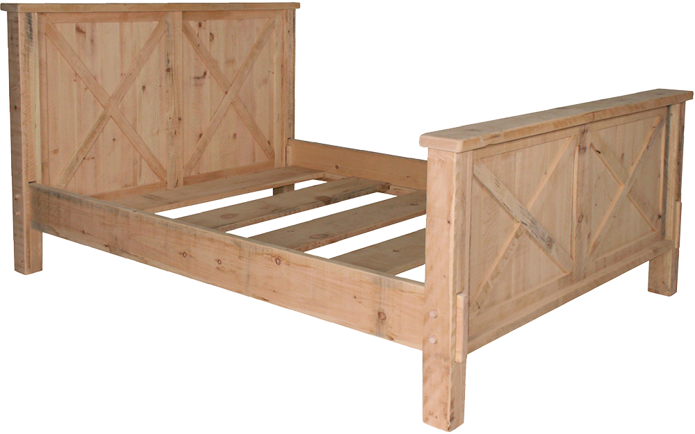 Rustic Barn Door Bed Craftworks At The Barn