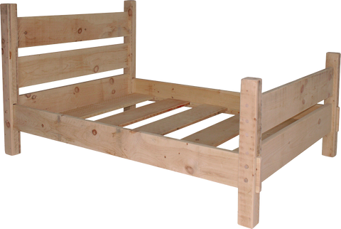 Rustic Barn Fence Bed