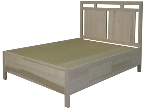 Urbana Open Panel Bed with 4 Drawers