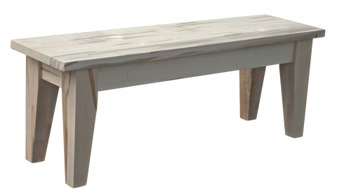 Dakota Rough Sawn 4 Legged Bench
