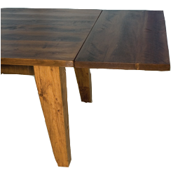 Dakota Rough Sawn Harvest Table