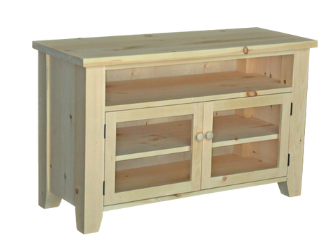 Dakota Rough Cut TV Stand