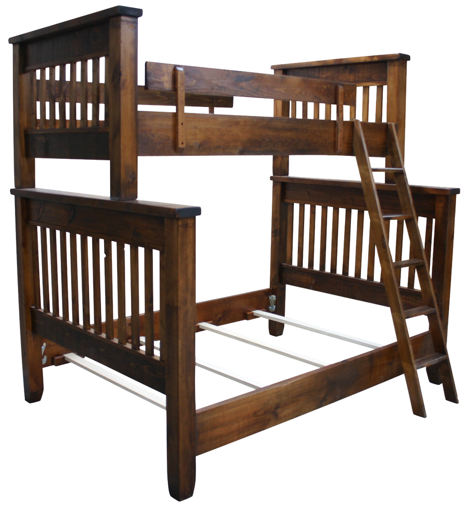 Dakota Rough Cut Bunk Bed