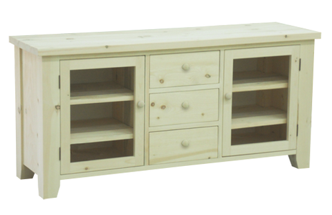 Dakota Rough Sawn Entertainment Unit