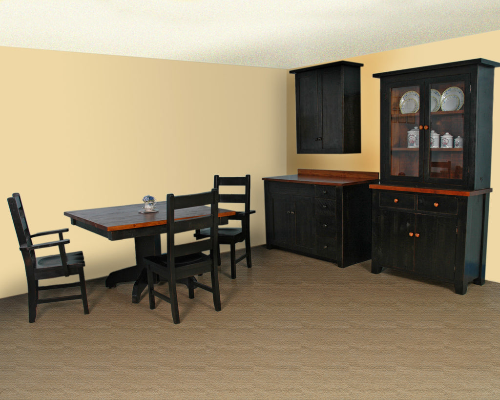 Rough Cut Dining Suite Cont.