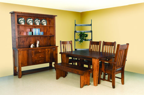 Dakota Rough Sawn Dining Suite
