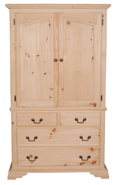 Rideau Crown Top Armoire