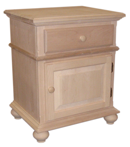 Rideau 1 Door 1 Drawer Nightstand