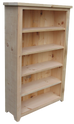 Dakota Rough Sawn Bookcase