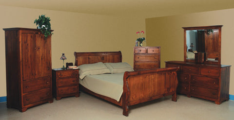Nith River Rustic Bedroom Set