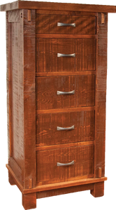 Timber 5 Drawer Lingerie Chest