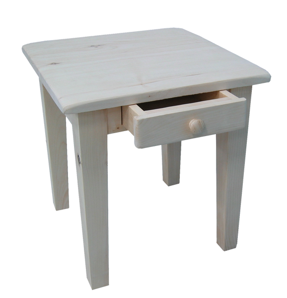 Nith River Rustic End Table