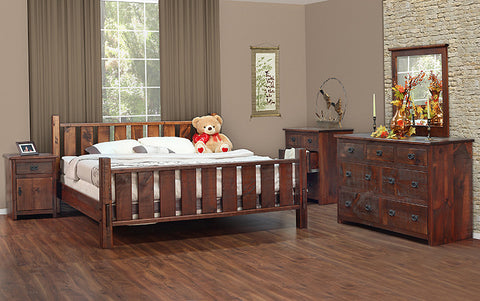 St. Clements Rustic Bedroom Collection