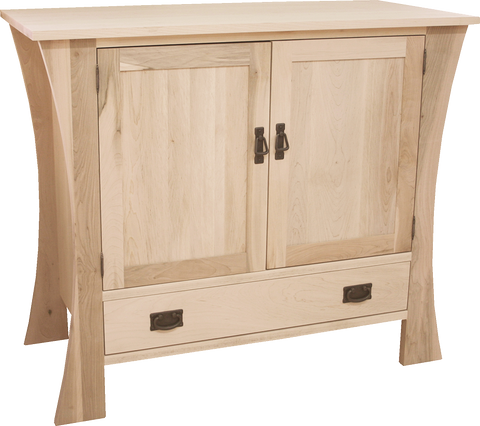 Mission 2 Door 1 Drawer Sideboard