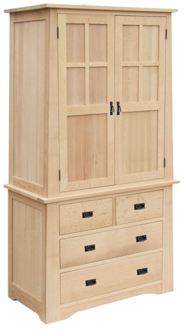 Horizon 2 Piece Armoire