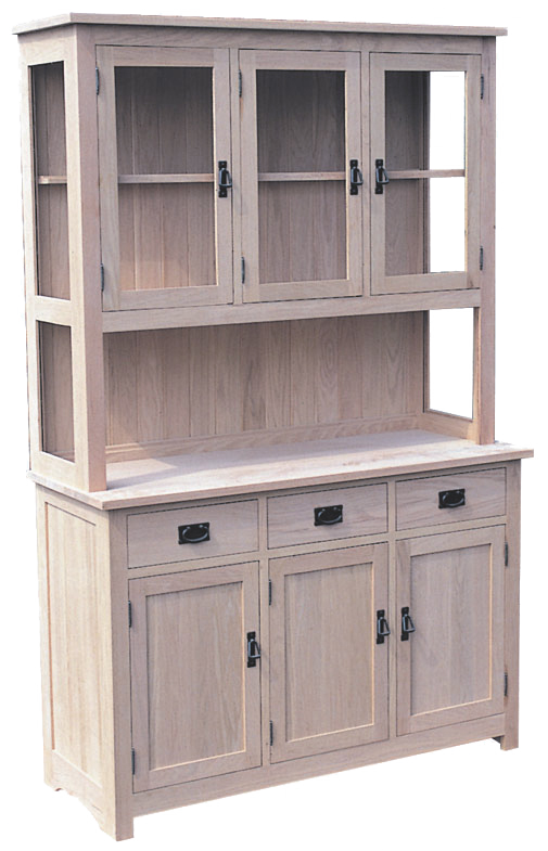 Shaker 2 Door / 3 Door / 4 Door Buffet with Hutch