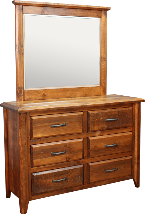 Bevel 6 Drawer Dresser