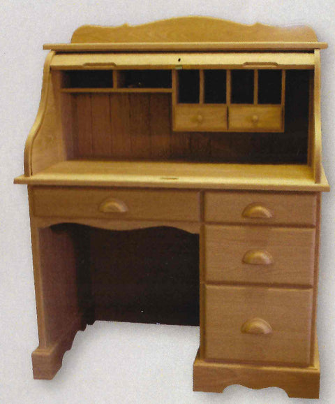 Burkwood Single Pedestal Desk