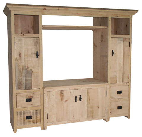 Rustic 3 Piece TV Unit