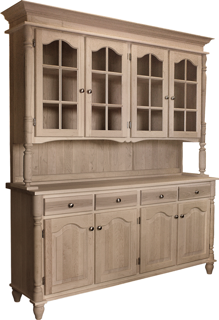 Country Classic 4 Door Buffet with Hutch