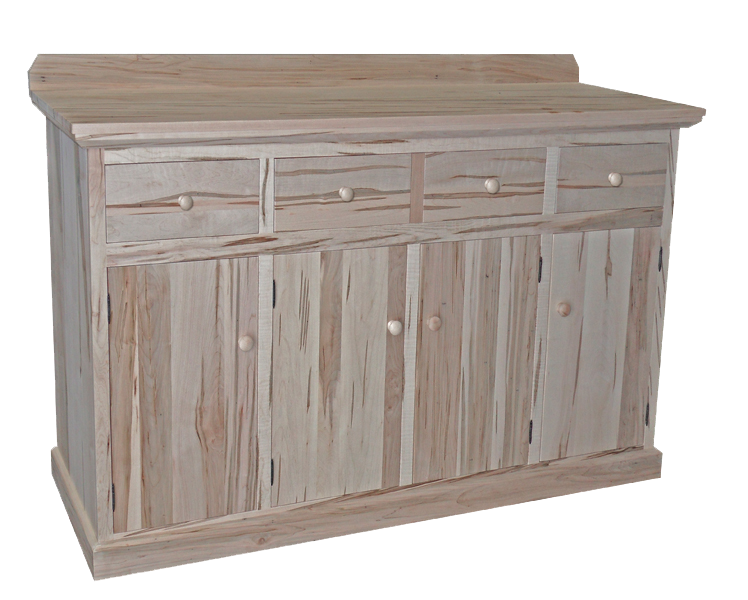 Unfinished Sideboard