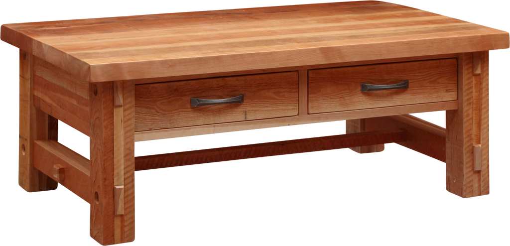 Timber 2 Drawer Coffee Table