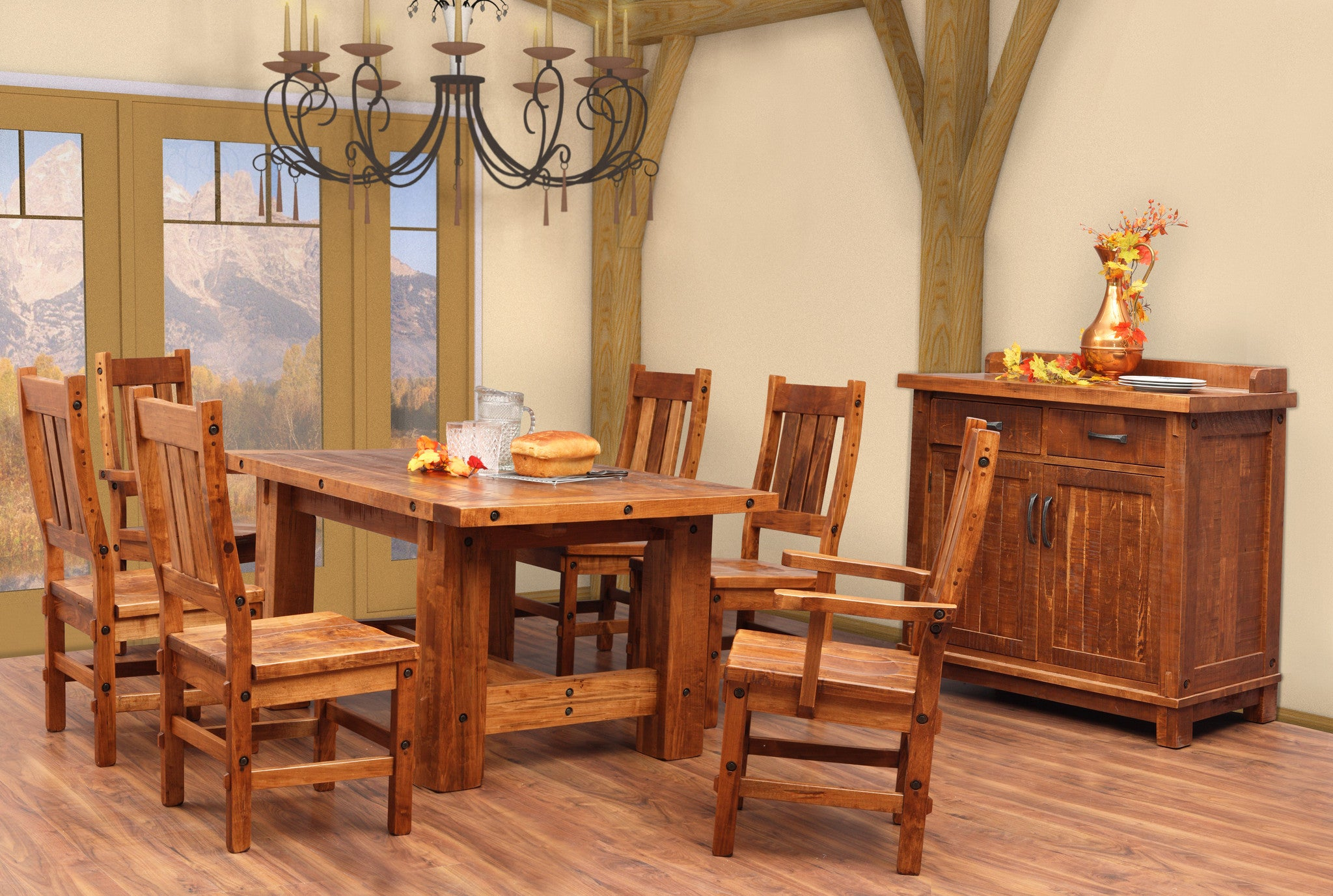 Timber Dining Suite