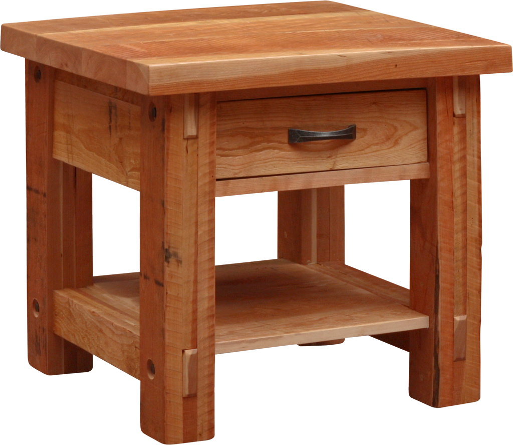 Timber 1 Drawer End Table