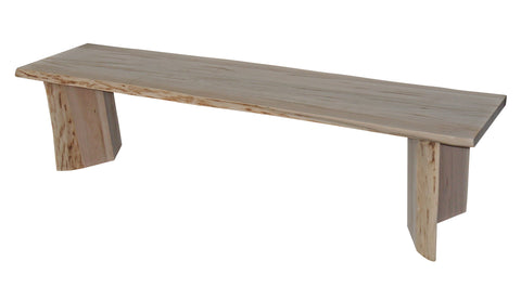 Waterfall Live Edge Cascade Bench