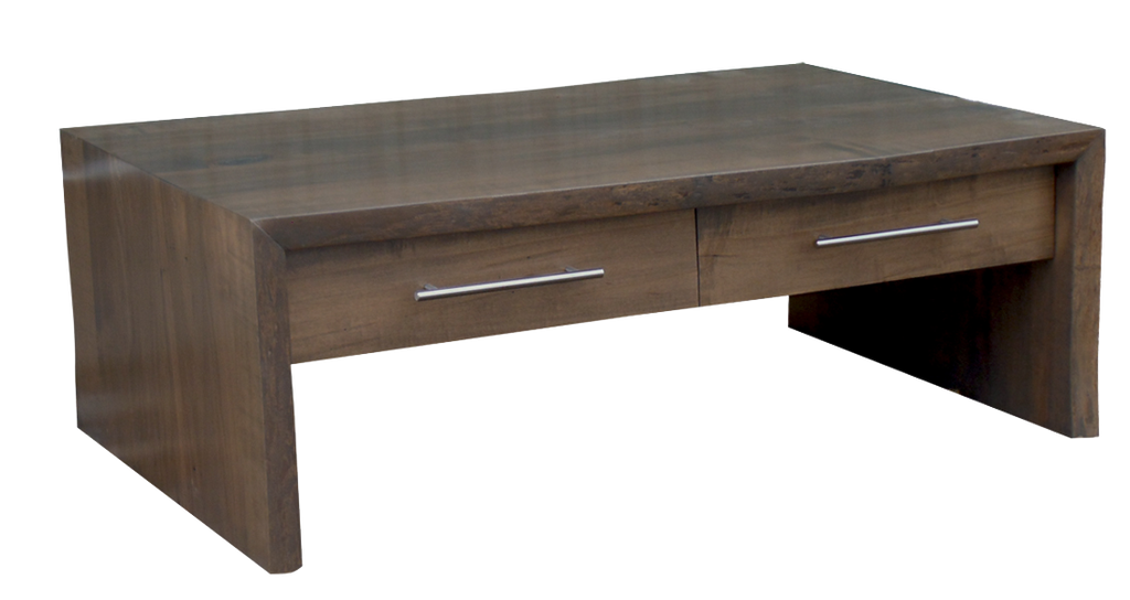 Brilliant Live Edge Waterfall Coffee Table Craftworks At The Barn Cjindustries Chair Design For Home Cjindustriesco