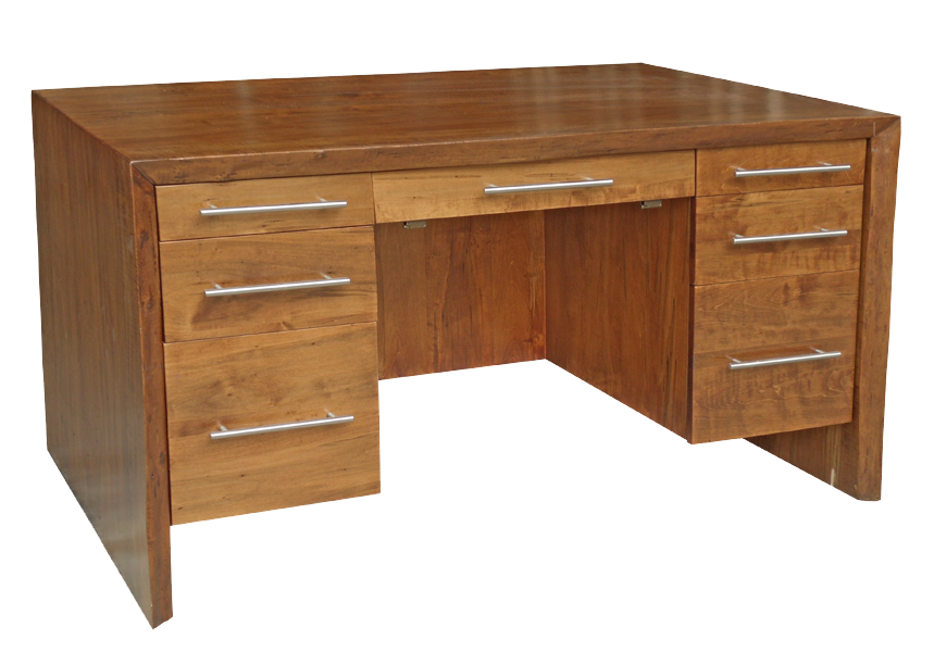 Waterfall Executive Desk (Front)
