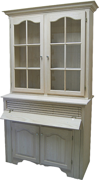 Country 2 Door Buffet and Hutch with Table