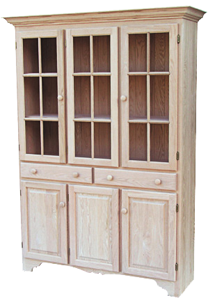 Legacy Old Country 2 Centre Drawer China Cabinet