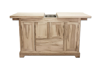 Rustic 3 in 1 Bar & Sideboard