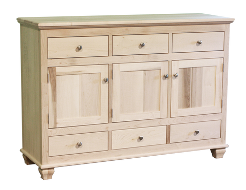 Barcelona 3 Door 6 Drawer Sideboard