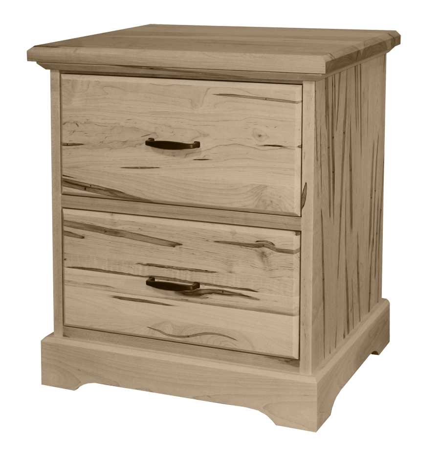 Cottage Deluxe 2 Drawer Nightstand