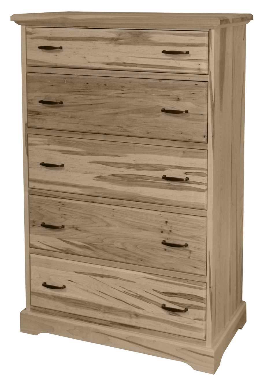 Cottage Deluxe 5 Drawer Hiboy