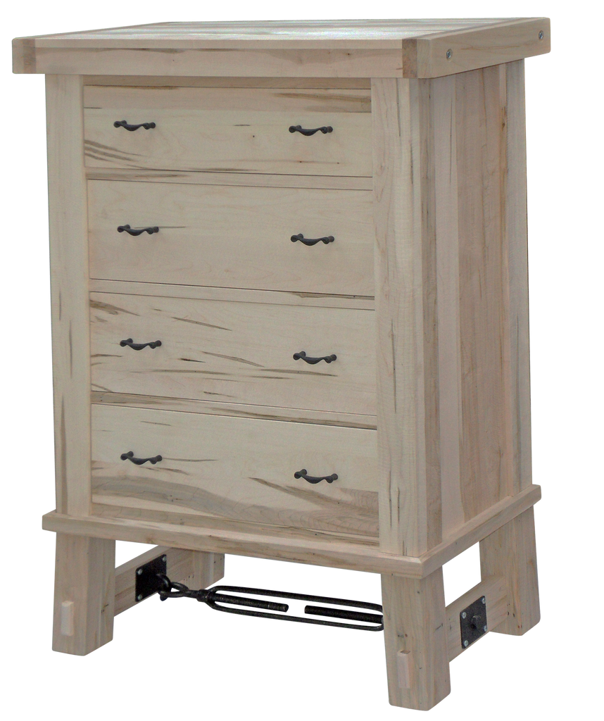 Yukon Turnbuckle 4 Drawer Hiboy