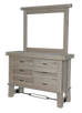 Yukon Turnbuckle 6 Drawer Dresser