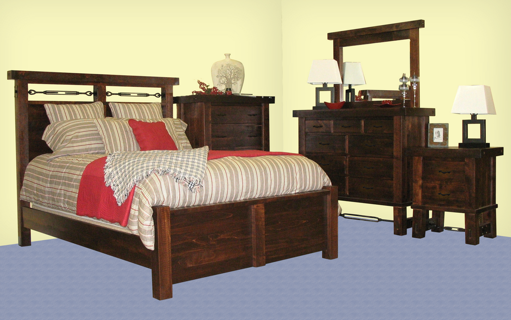 Yukon Turnbuckle Bedroom Series